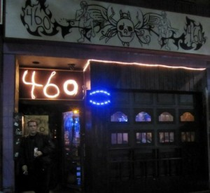 c. 2012: Outside the 460 Bistro Bar