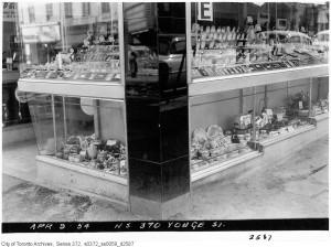Yonge Street during 1954