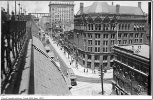 Yonge St1912