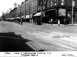 An image of 1923 Queen Street East at Sherbourne St.