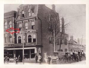 1846-1850 Yonge Street, 1901.