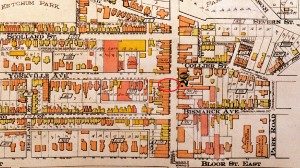 846 Yonge Goad's Fire Insurance Map, 1913.