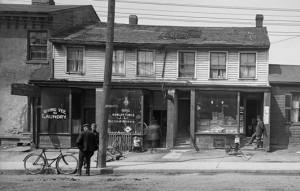 Laundry/residence on Elizabeth St.  Source: Toronto Archives